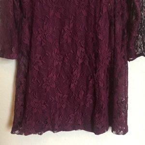 Forever 21 Dresses - Forever 21 Purple Lace Dress